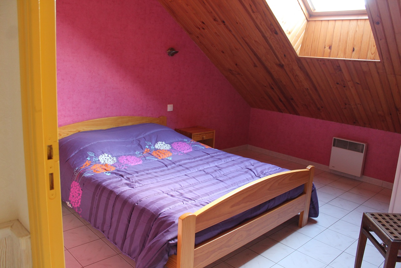 2 Chambres 1 lit 2 personnes