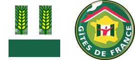 Logo gite de france 2 epis